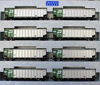 KATO 1064650 N Scale BURLINGTON NORTHERN Protein Gondola 8 Car set #1 106-4650