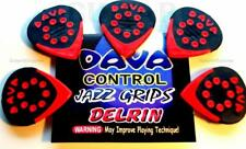 5 Dava Control Jazz Grips Delrin Guitar Picks