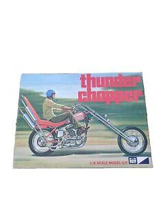 UNBUILT Original release MPC Vintage Thunder Chopper 1:8 Scale Model Kit 1-1423