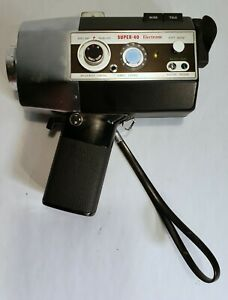 Vintage Yashica Super 40 SU-40 E Electronic 8 Millimeter Camera. Tested Working