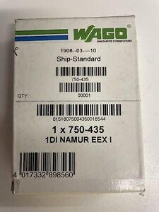 WAGO 750-435 1DI NAMUR EEX I 1-Kanal Digitaleingang