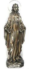 Madonna mit Heiligenschein Mutter Gottes 50 cm bronziert neu Heiligenfigur