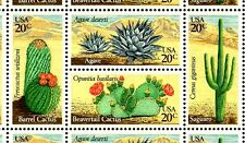 1981 - DESERT PLANTS (CACTUS) -#1942-45 Full Mint Sheet of 40 Postage Stamps