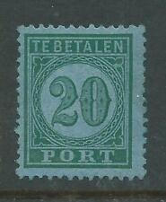 1874TG Nederlands Indie Portzegel P4 postfris zegel zie foto's.