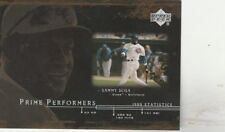 FREE SHIPPING-MINT-2000 UPPER DECK PRIME PERFORMERS SAMMY SOSA PP9   Cubs