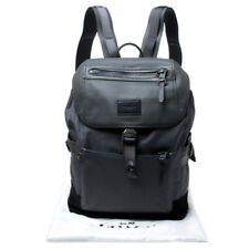 Genuine Coach Manhattan backpack in granite / black