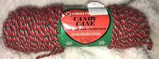 "New ListingNwt VinTaGe Red Heart Yarn Candylane ""Peppermint 789� 3 Oz 100% Acrylic 4-Ply"