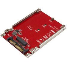 Startech.com U2m2e125 tarjeta adaptador PCI Express M.2 a U.2 Sff8639 para Ss...