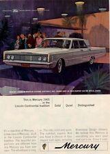 1965 Mercury 4-Door at Mountain Shadows, Scottsdale, Arizona PRINT AD