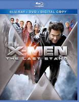 X-Men: The Last Stand (Blu-ray/DVD, 2011, 2-Disc Set, Includes Digital Copy)