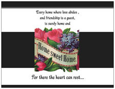 20 HOUSE Warming Home Sweet Home Flowers INVITATIONS Post Cards POSTCARDS