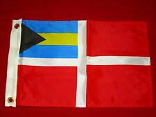 BAHAMA BAHAMAS COURTESY FLAG 12 x 18 NEW NYLON DYED SEACHOICE 78241