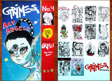 GRIMES Art Angels Ltd Ed 2 RARE New Posters Lot +FREE 3rd Pop/Indie/Dance Poster