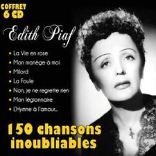 CD Coffret 6 CD Edith Piaf : 150 Chansons inoubliables / IMPORT
