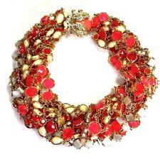 Kate Spade Caledonia Necklace NWT Inspired Torsade of June Bugs & Rare Pink