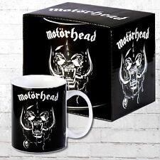 Logoshirt Kaffeebecher Tasse Motörhead Mug Kaffeetasse schwarz Kaffee-Becher