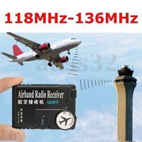118MHz-136MHz Air Dual Bande avion émetteur RC Radio récepteur aviation Receiver