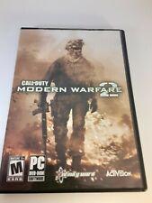 Call of Duty: Modern Warfare 2 - PC  COD MW2 with manual