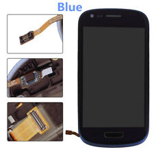 Complete LCD Touch Screen Glass Digitizer frame for Samsung Galaxy S3 MINI i8190
