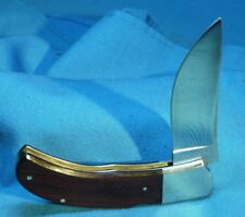 """Vintage Browning 508 Japan Mid Lock Hunting Folder Pocket Knife Excellent    """""""