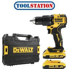 DeWalt DCD709D2T 18V XR Brushless Compact Combi Drill 2 x 2.0Ah