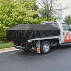 10 ft. x 12 ft. Black Heavy Duty Pick Up Truck Tarp 10 mil thickness Flatbed