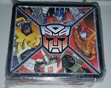 Hasbro Transformers Metal Tin Autobots Aquarius Lunch Box 2013
