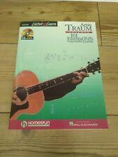 Artie Traum Teaches 101 Essential Riffs For Acoustic GUITAR MUSIC BOOK & CD