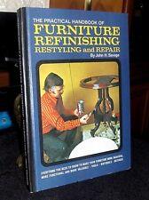 Practical Handbook of Furniture Refinishing Restyling Repair Savage HC 1971 OOP