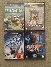 Nintendo GameCube Lot 4 Games (Metroid, Pokemon, Etc.)