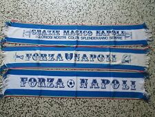 lotto 3 sciarpe NAPOLI FC club football calcio scarf bufanda echarpe schal lot b