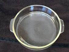 "Vintage Pyrex #221 Round 8 1/2"" Deep Dish/Pie Pan Oven Glassware"