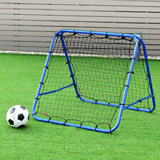 Double-sided Football Pro Rebounder Net Training Adjustable Kickback Soccer Goal