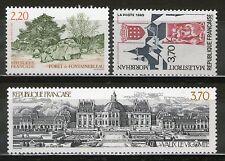 SERIE TIMBRES 2586-2588 NEUF XX LUXE - SERIE TOURISTIQUE DE 1989