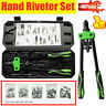 Hand Rivet Gun Threaded Riv-Nut Riveter Tool Set Case Kit Car M3-M10 Technic UK