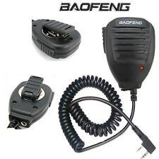 Microfono altoparlante per radio Baofeng UV-5R, Kenwood, Wouxun e molte altre.
