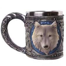 Wolf Tankard Serpent Medieval Collectible Stein 3D Wolf Beer Mug Drinking Vessel