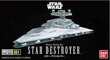 Star Wars Model Kit Star Destroyer Vehicle Model 001 No scale Bandai Japan ***