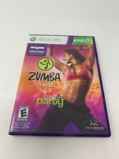 Zumba Fitness Xbox 360 CIB Complete With Manual
