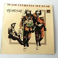 Groundhogs - Thank Christ for the Bombs - Vinyl LP UK 1975 Press EX+/EX+