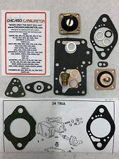 1972 PEUGEOT 504/604 CARBURETOR REPAIR KIT SOLEX 34 TBIA PRIMARY 1 BARREL NEW