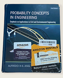 Probability Concepts in Engineering 2nd Edition Alfredo H-S Ang, W. H. Tang