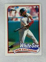Ivan Calderon Chicago White Sox 1989 Topps Baseball Card 656