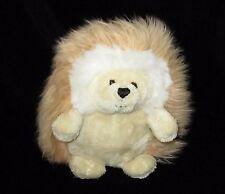 """Gund Ganley Hedgehog Tan Plush Soft Toy Stuffed 319940 6"""" Animal"""