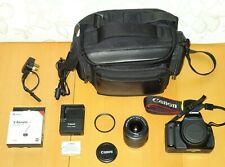 Canon EOS 600D 18.0MP SLR Camera - Kit with EF-S 18-55mm IS II + EXTRAS