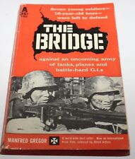 THE BRIDGE BY MANFRED GREGOR AVON T-532 BOOK 1960 VINTAGE PAPERBACK
