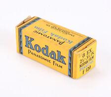 KODAK 120 PANATOMIC EMPTY BOX ONLY (NO FILM), EXPIRED NOV 1936/cks/207479