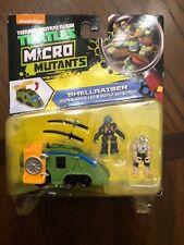 TMNT Micro Mutants Shellraiser Super Ninja Leo & Super Shredder  VHTF