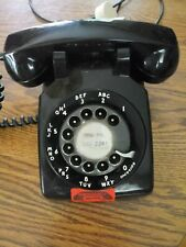 Black Western Electric Bell Rotary Telephone  #500