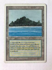 Magic MTG - Tropical Island - Revised (3rd) Edition - LP/MP